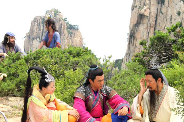 电视剧《八仙过海》将天崮山作为主要取景地